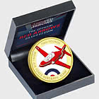 JERSEY- Red Arrows Sterling Silver Proof Coloured £2