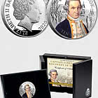 JERSEY - Captain Cook Silver 5oz Coin