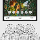 ISLE OF MAN - The Peter Pan 50p Framed Edition