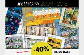 40% de réduction sur l'ensemble de draps Europa des années 2009 à 2016!