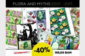 40% 折扣 神话与植物群 2007 至 2017!