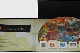 30% DE RÉDUCTION - Gravure - L'art dans les timbres