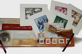 SCONTO DEL 30% - Incisione - The Art in Stamps II
