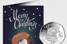 50p Coin Gibraltar Christmas 2017
