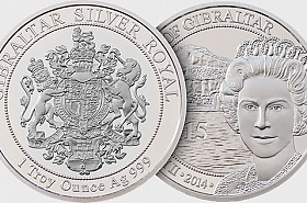 Black Friday Offer - Silver Royal Coin