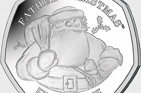 Christmas 2018 50p Coin - Single Coin