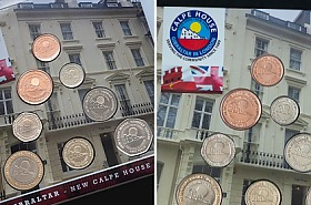 Gibraltar Currency Year Collection - Calpe House