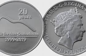 Ombudsman £5 Coin