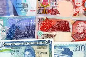 Sonderangebot: Gibraltar £ 10 Banknotes Bundle mit 20% Rabatt. SIE SPAREN £ 12