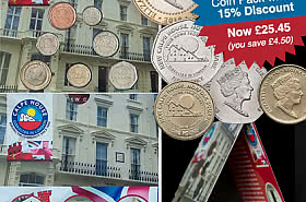 15% Discount: 2018 Calpe House Coin Pack SAVE £4.50! - BLACK FRIDAY OFFER