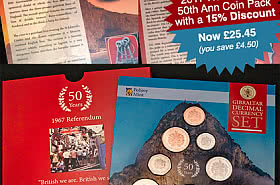 15% Discount: 2017 Referendum 50th Anniversary Coin Pack SAVE £4.50 - BLACK FRIDAY OFFER
