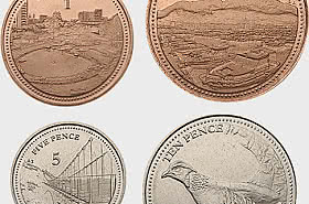 Gibraltar 2020 Low Value Coins