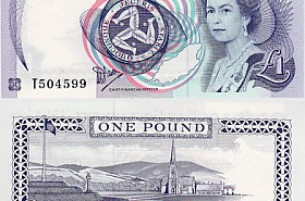 Isle of Man £1 Banknote (10 units)