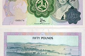 Isle of Man £50 Banknote (Mint)