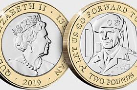 D-Day Commemorative £2 Coin - Montogomery