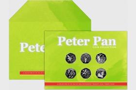 Peter Pan Six 50p Collezione di Monete - PREORDINE