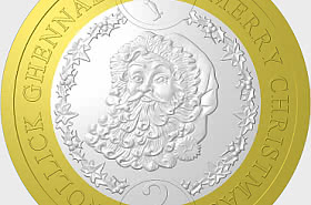 2019 Father Christmas £2 Coin