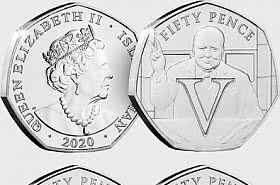 The 75th Anniversary of VE Day - 50p Coin Collection