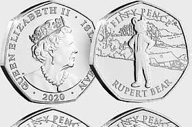 Rupert Bear 100th Anniversary 50p