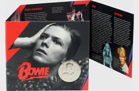 David Bowie BU £5 Coin Gift Pack
