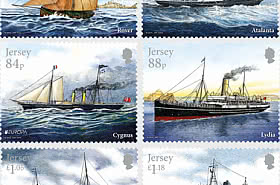 Europa 2020 - Ancient Postal Routes, Mail Ships