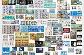 Werbeangebot - Vollständige Sammlung 2014 - 2019 Jahressatz (Sheetlets)