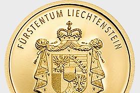 300 ans du Liechtenstein 2019 - CHF10 Pièce d'or