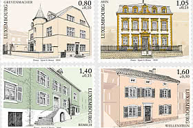 2019 Timbres de Charité-Moselle Luxembourgeoise