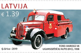History of Automobiles - Ford Vairogs V8 (81C)
