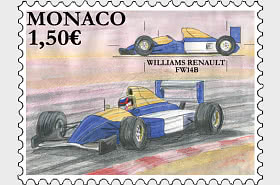Legendäre Rennwagen – Williams Renault FW14B