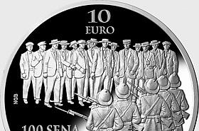 Centenario del Sette Giugno Riots 1919 Silver Proof
