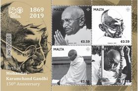 Geburt von Mohandas Karamchand Gandhi - 150. Jahrestag