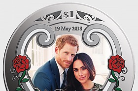 PRE ORDER - 2018 Royal Wedding Silver Coin - Limited edition 1500