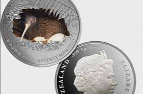 2021 Kiwi 1oz Silver Proof Coin