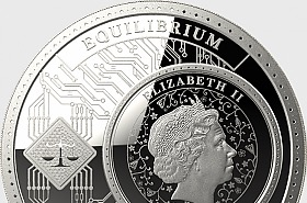 Equilibrium - Silver Coin - Single Coin Capsule