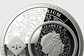 Equilibrium - Silver Coin - Tube of 25