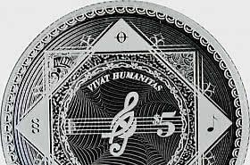Vivat Humanitas 2021 - Proof-Like -  Single Coin Capsule