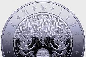 Chronos 2021 - Proof-Like - Single Coin Capsule