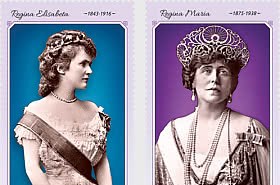 Les Uniformes De La Royauté (III) -  Les Reines De Roumanie