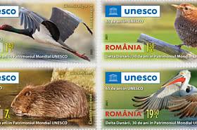 罗马尼亚,加入联合国教科文组织 65 年。 多瑙河三角洲,联合国教科文组织世界遗产 30 年