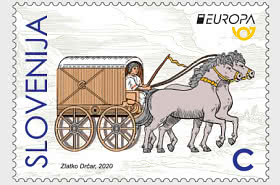 Europa 2020 - Ancient Postal Routes