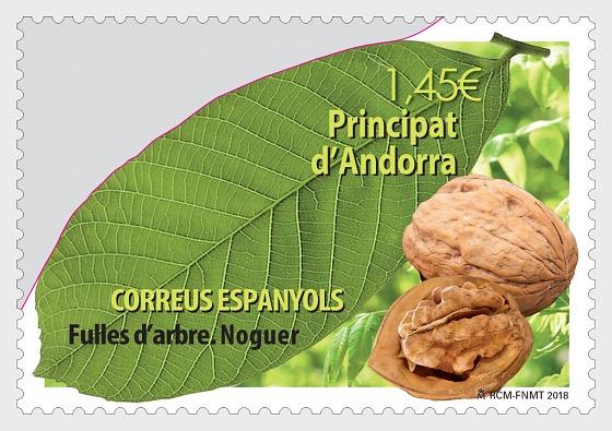 Fulles d'arbre - Noguer - Series