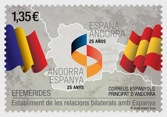 Aniversarios - 25 Años desde que se Establecieron las Relaciones Bilaterales con España - Series