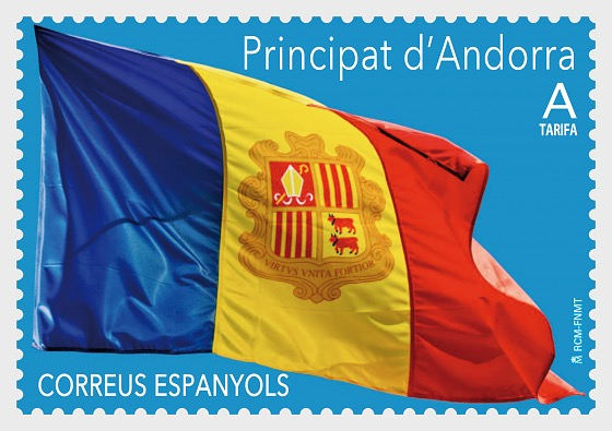 Definitive - Flag of Andorra - Set