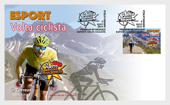 Sport, La Purito Cycle Race - First Day Cover
