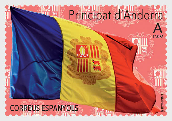 Basic Series 2020 - Flag of Andorra - Set