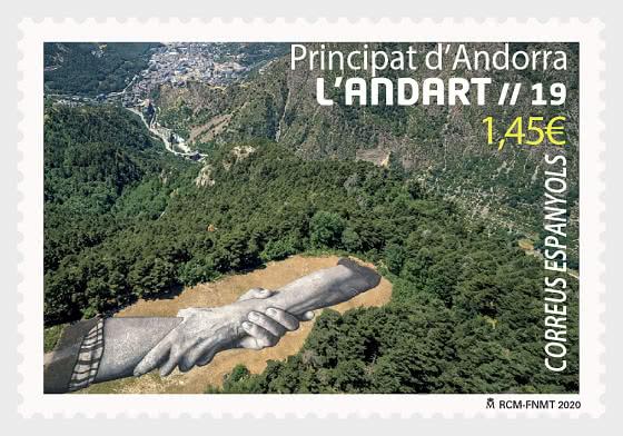 Andorra Land Art - Mint - Set