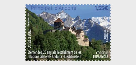 25 Años Desde El Inicio De Las Relaciones Bilaterales Con Liechtenstein - Series
