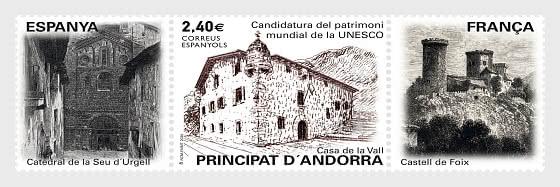 Candidatura del patrimoni mundial de la UNESCO -  Casa de la Vall - Series