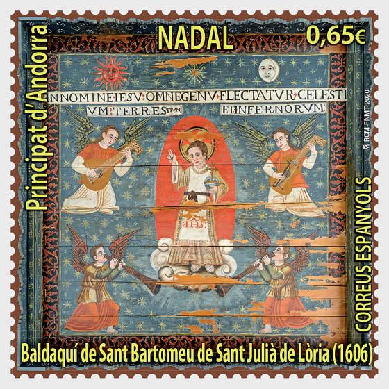 Navidad 2020 - Baldachin of Sant Bartomeu, Sant Julià de Lòria - Series